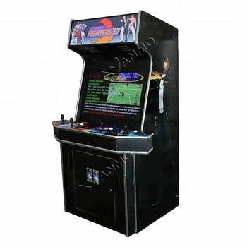 4 players upright arcade video cabinet machine with raspberry pi