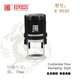 Round 30mm Self inking stamp/notary stamp/rubber stamps