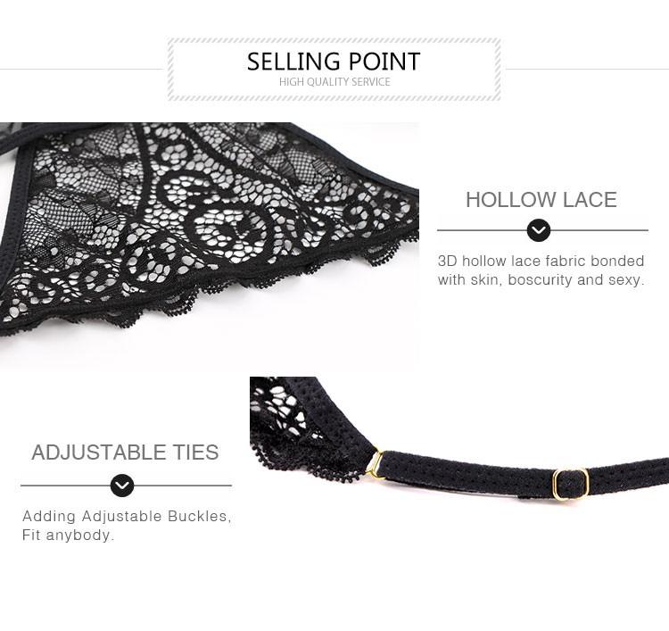 8310d77c5d88 Magic Thick Hooks T-back Women Transparent G String - Buy Women ...
