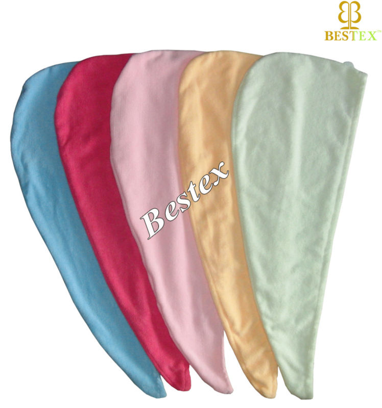 Absorbency Sexy Microfiber Hair drying Towel for hair salon