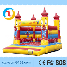 Commercial jumping inflatable bouncy castle for sale