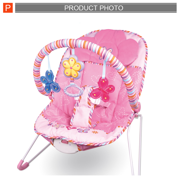High quality lovely kids furniture wholesale baby rocking chair with music for sale