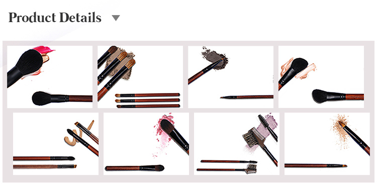 12pcs Customized Cosmetic Brush Set Hot Sale Makeup Brush Personalized Makeup Brush Set