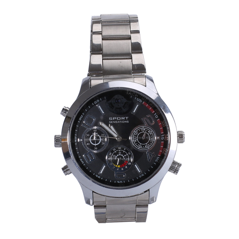 HD Spy Watch Camera 2K 1296P Support card to 128gb hidden wireless cam in watch