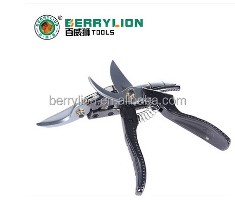 Berrylion Gardening Tools Purning Shears SK-5 steel by pass Scissors