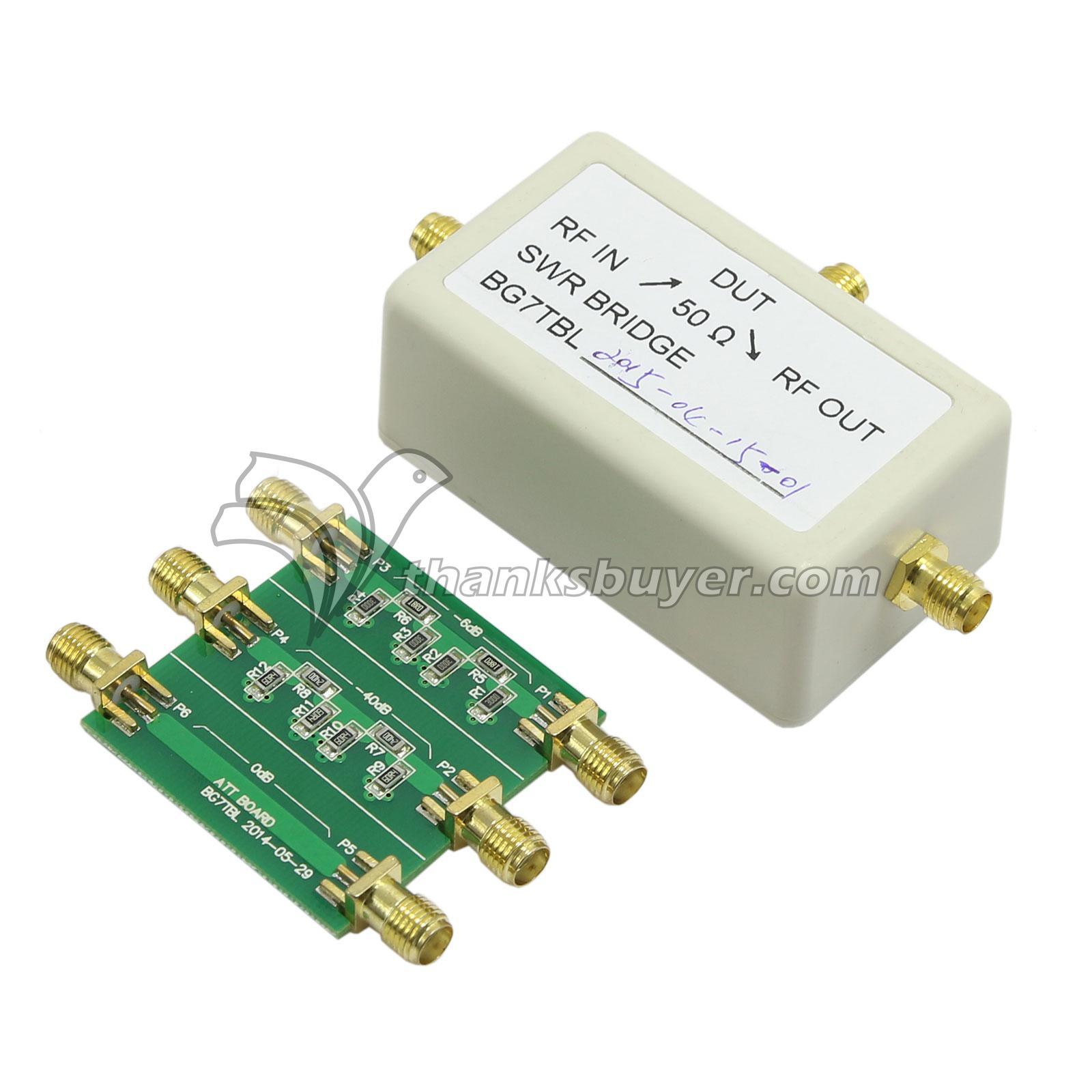 NWT500 0 1MHz-550MHz USB Sweep Analyzer + Attenuator + SWR