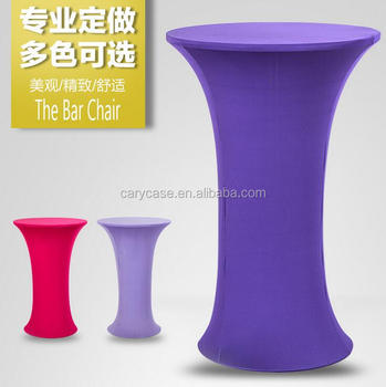 Elastic Cocktail Table Set Bar Set White Elastic