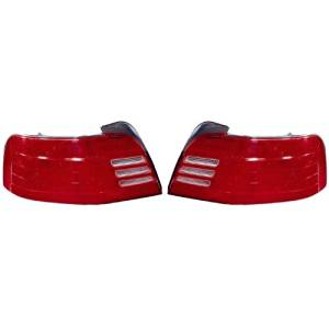 OE Replacement Mitsubishi Galant Driver Side Taillight Assembly (Partslink Number MI2800108)