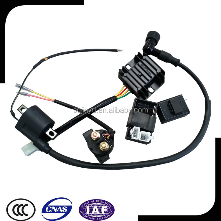 SUNWAN CDI Ignition Coil Engine Motorbike Spark Plug Magneto for Motorized 49cc 60cc 80cc