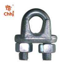 din 741 Malleable Wire Rope Clip / Wire Rope Clamp in rigging hardware