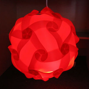 Wholesale jigsaw puzzle lamp D250mm