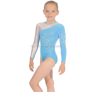 OEM custom design comfortable ballet leotards sexy girl images long sleeves