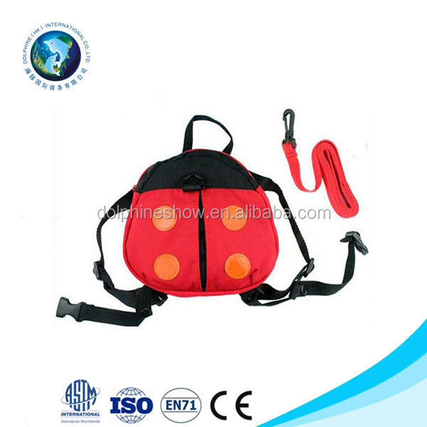 Kids Safety Harness Leash Anti Lost Backpack Strap Bag For Walking Toddler