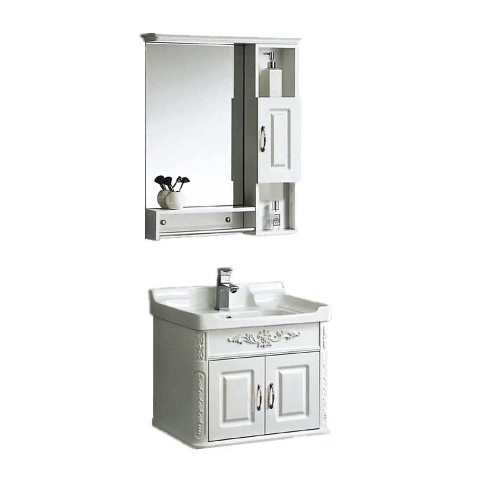 24 inch bathroom vanity,wash basin mirror cabinet pvc - buy