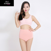 Big buttock underwear mummy fashionable body tight underwearColor triangle ladies underwear