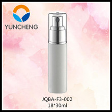 30ml PET perfume spray bottle for medical use or cosmetic use, silver sprayer bottle