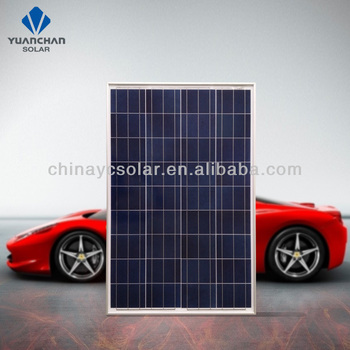 China manufacturer pv poly solar panel 100W