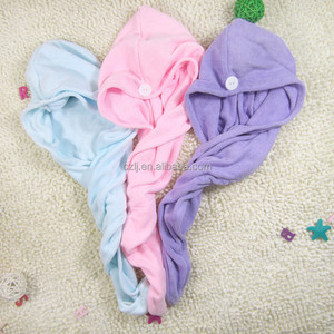 Hair Drying Towels, Fast Drying Hair Cap, Long Hair Wrap head band hair drying towel turban towels china manufacturer