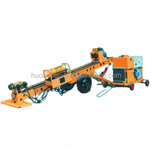 small light mobile wheel type anchor engineering construction FKW-12 boring drilling machine