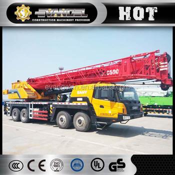 China Best 75 Ton Sany Mobile Crane
