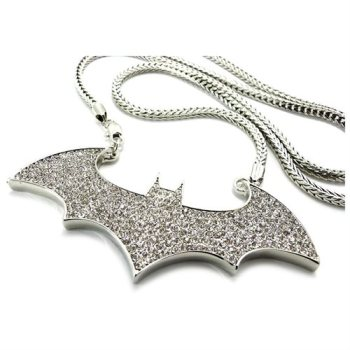 Custom made gold iced out hip hop jewelry batman 925 sterling silver custom made gold iced out hip hop jewelry batman 925 sterling silver micro pave pendants for aloadofball Image collections
