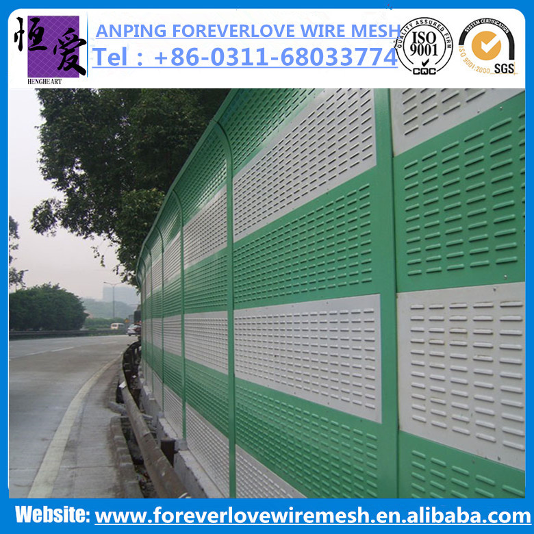 Anping Foreverlove High quality construction noise barrier /sound proof wall