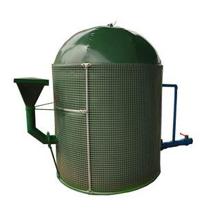 Small stainless steel the price PVC biogas fermentation tank