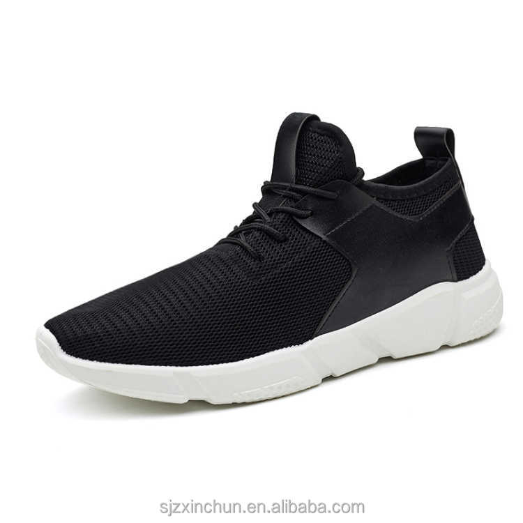 2017 Hot Sale Engineered Mesh Fabric Upper Casual Shoes for Men