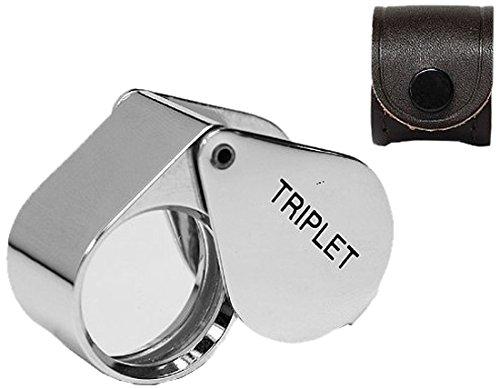SE MJ31021C 10x 21mm Professional Round Triplet Jewelers Loupe