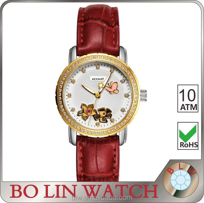 Top vegue women Valentine's gift wrist watch shenzhen wholesale