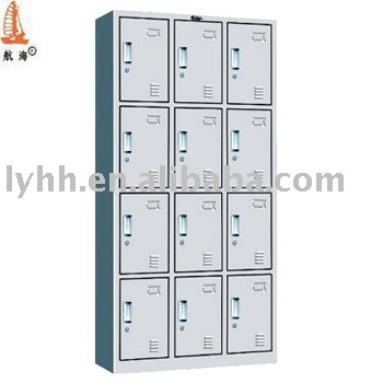 clothing detail furniture roll lockers ventilated cold metal locker cabinet steel product store for
