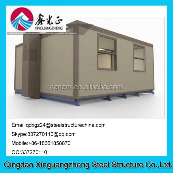 Residential Collapsible Container House , Smart Prefab Container Homes for Hotel or Kiosk