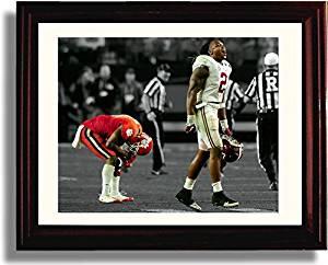 Framed Derrick Henry Celebration 8x10 Print - Alabama Crimson Tide