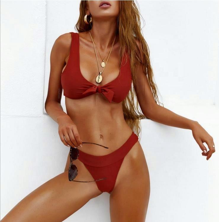 Bán Buôn Bikini 2020 Hot Bán 3 Màu Sắc Thời Trang Phụ Nữ Đồ Bơi Bikini Sexy