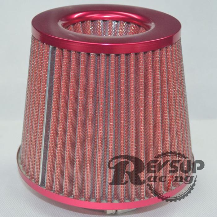 Красный универсальный 3 '' воздушные фильтры / производительность части