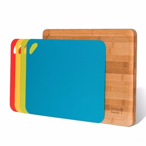 New Products Reversible Bamboo Cutting Board flexible cutting mat
