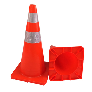 High Visible Reflective Road Cone PVC Traffic Cones Traffic Safety