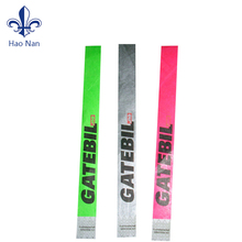 Printed Logo tyvek paper wristbands with Different Color