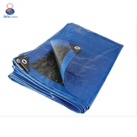 China Heavy Duty Factory customized double waterproof PE tarpaulin