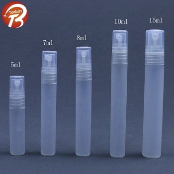 5ml 7ml 8ml 10ml 15ml 20ml pp plastic pen perfume spray bottle