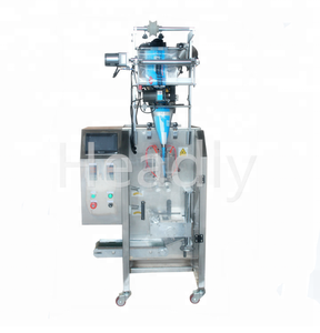 Full automatic baby Talcum coffee milk powder with four three side sealing packing machine