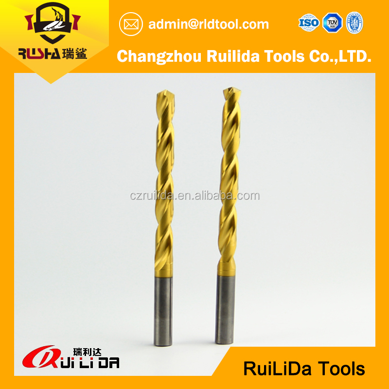 cobalt 5% taper shank twist drill m35 with high precision, rock twist drill bits
