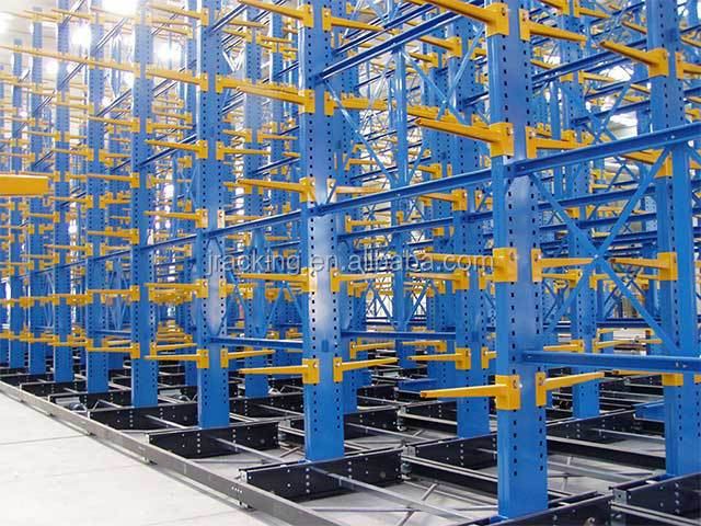 2016 Jracking top quality metal steel warehouse and powder coating library mobile shelfing systems