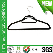 CR-AU499_velvet Hot selling closet save hanger with low price