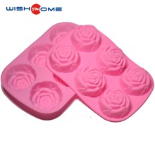 JianMei Brand Wholesale flower shape Muffin & Cupcake Baking Pan Set Bakeware Trays Microwave Silicone Cake Mold