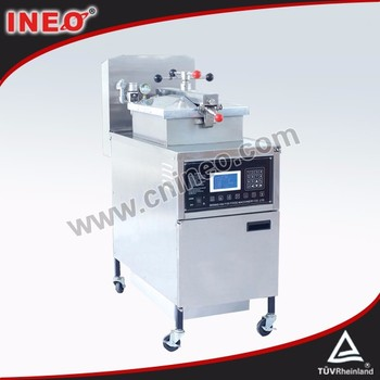 CE certificated Stainless steel KFC gas pressure fryer/chicken broast machine