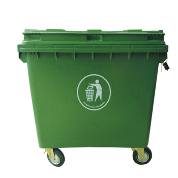 Outdoor Trash Can With Wheels Cool Outdoor Garbage Bin 60l Plastic Trash Can Waste Trolley Bin With