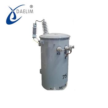 132kv 75kva Single Phase Distribution Power Transformer With Price