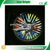 2015 Newest Decorative bicycle warning accessories motorcycle wheels spoke bicycle wheel reflectors lights