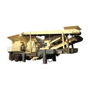 China Tractor Truck Tracked Mounted Stone Jaw Crusher For Dolomite